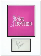 Henry Mancini Autograph Display - The Pink Panther